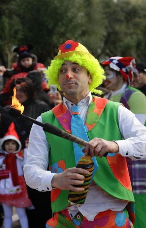Clown sputafuoco