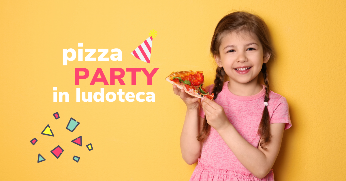 Pizza Party in ludoteca