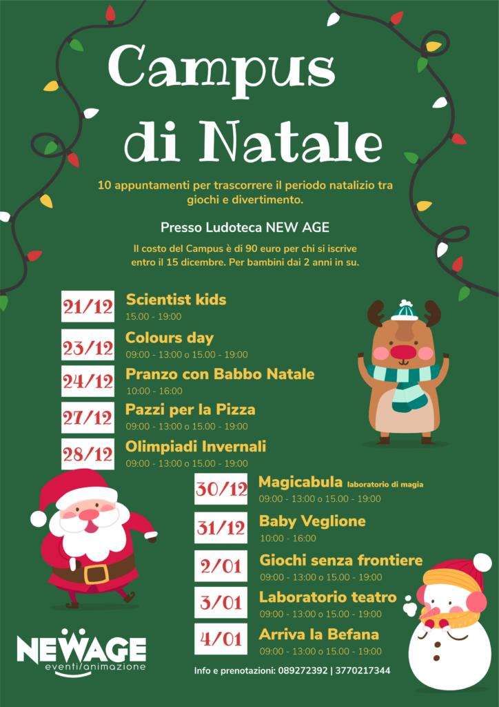 Locandina Campus Natale